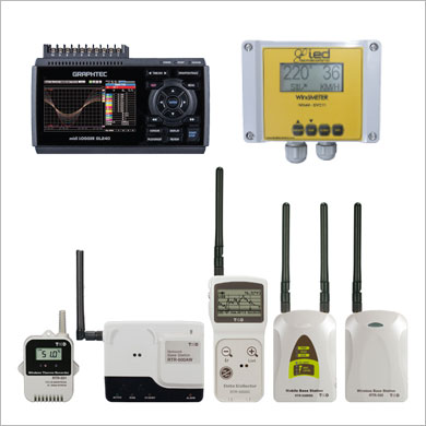 Data Loggers and Displays