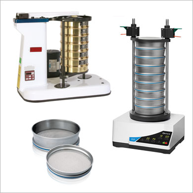 Sieving, Grinding and Splitters