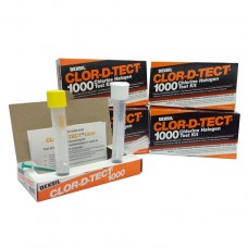 Test de dépistage du chlore total dans l'huile usée