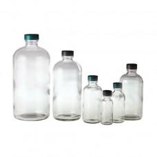 Clear Boston Round Bottles, Bottle Only