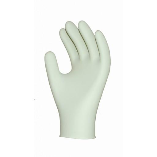 Latex gloves, lightly powdered