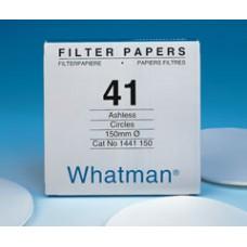 Papers Whatman quantitative filters