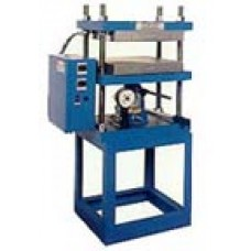 Press for rubber stamps