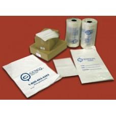 Plastic clear sample bags