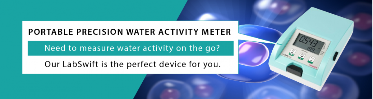Precision water activity meter