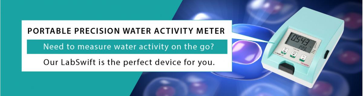 Precision water activity meter