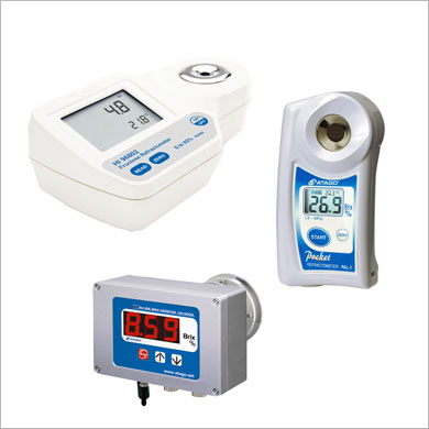 Réfractometers / Polarimeters