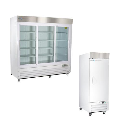 Glass Solid Door Laboratory Refrigerators Standard Geneq - Abt refrigerators