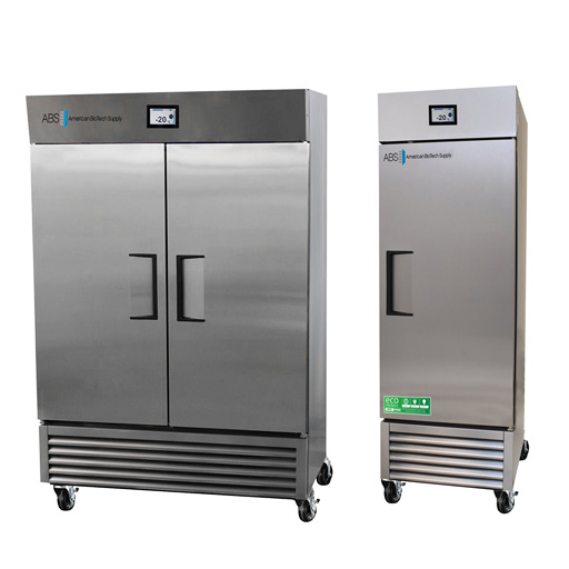 Stainless Steel Laboratory Freezers