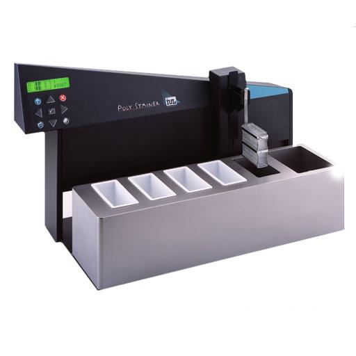 Instrument automatique pour la coloration de Gram