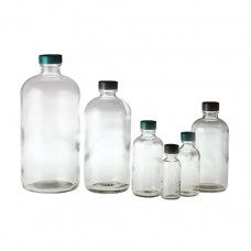 Clear Boston Round Bottles, Bottle Only