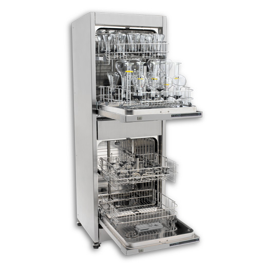 Vertical Glass Washer