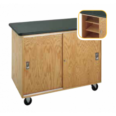 Bare Bones Mobile Storage Cabinet