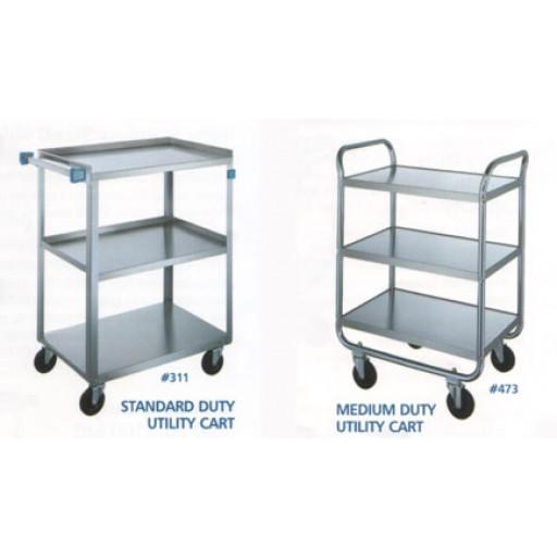 Laboratory trolleys stainless steel