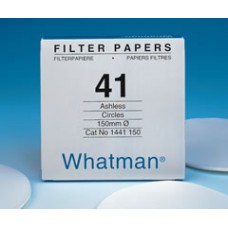 Papers Whatman quantitative filters