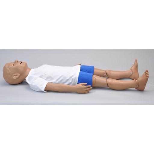 Simulateur de soin traumatique et RCR pour enfant de 5 ans