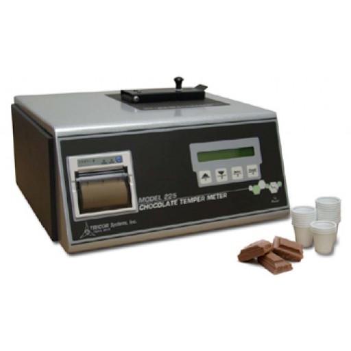 Chocolate temper meter
