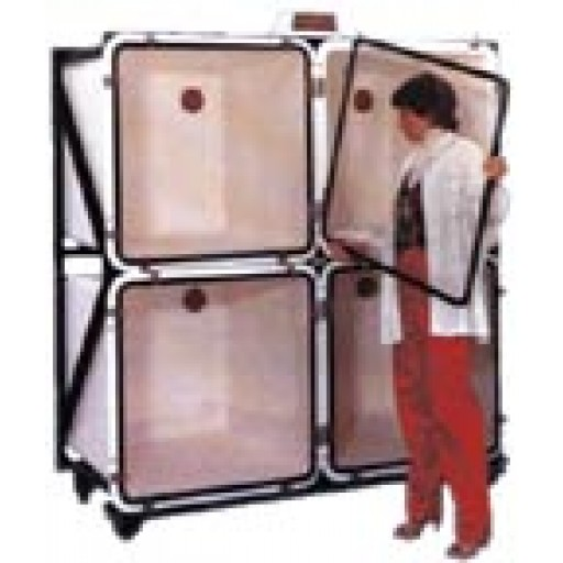 Autoclavable isolation unit