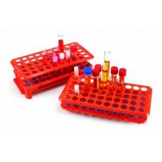 Râtelier polyvalent avec éjecteur pour tubes à essais
