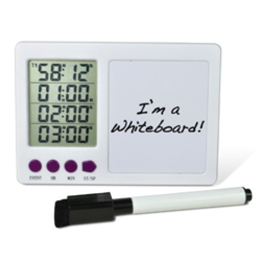 4-Channel Timer with White Board