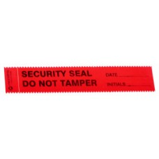 Red Security Seal