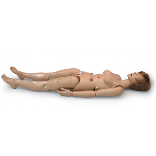 Patient Care Simulator with Ostomy