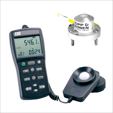 Pyranometers and luxmeters