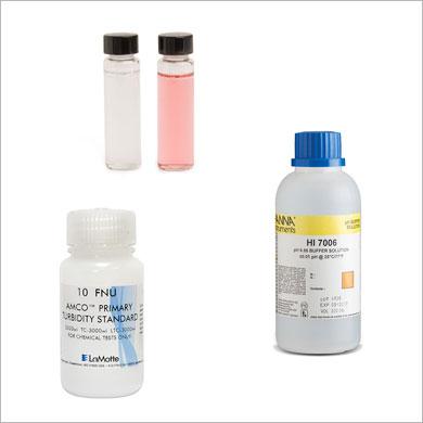 Solutions, standards et produits chimiques