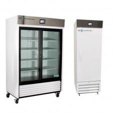 Réfrigérateurs de laboratoire à porte en verre et pleine