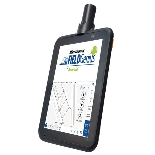 Tablette robuste pour la collecte de données