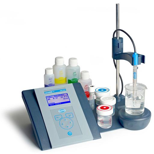 Instrument de table de mesure de la qualité de l'eau