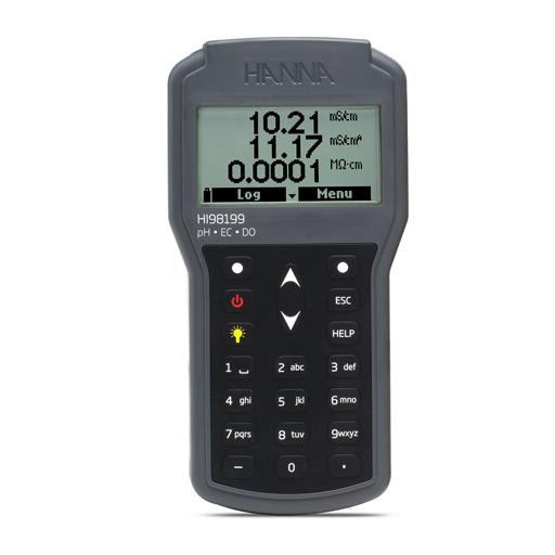 Multiparameter Portable pH/EC/DO Waterproof Meter