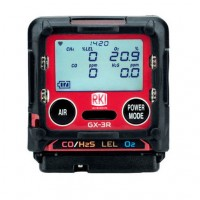 GX-3R Moniteur 4 Gaz LEL/O2/H2S & CO