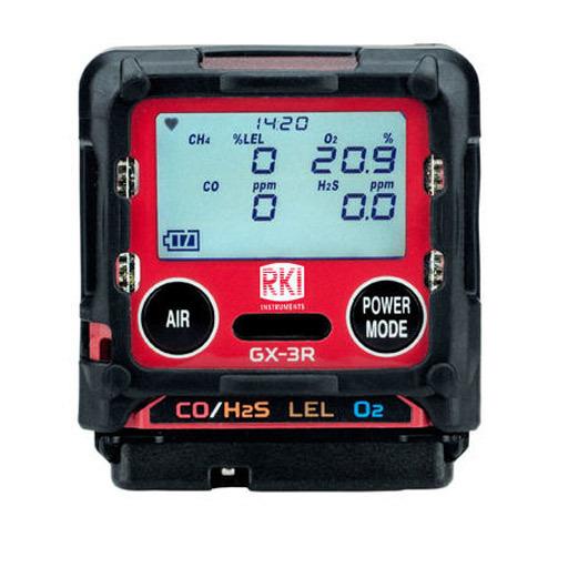 GX-3R Moniteur 4 Gaz LEL/O2/H2S & CO