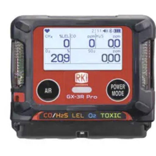 GX-3R Pro 4 Gas Monitor LEL/O2/H2S & CO combo