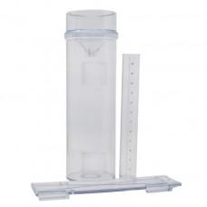 Pluviomètre en plastique