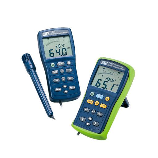 Datalogging Humidity Temperature Meter