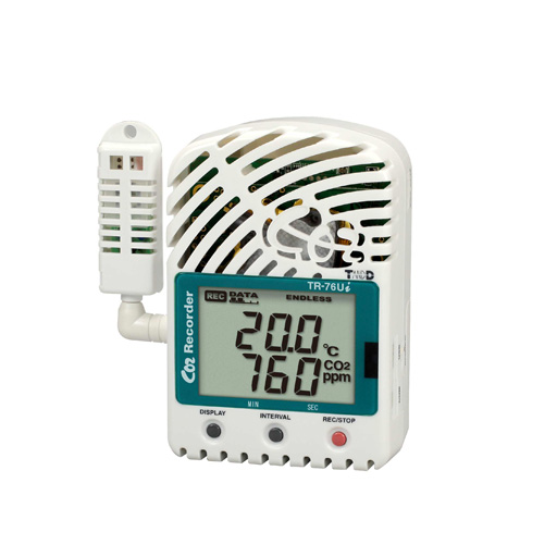 Wireless CO2 Data Logger