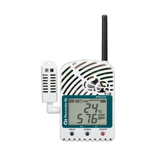 Wireless CO2 Logger