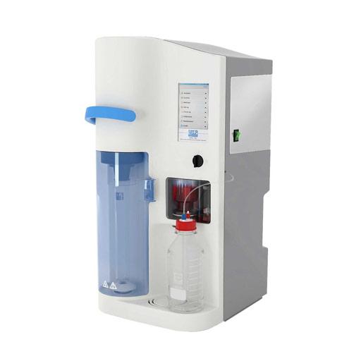 Distillateur de Kjeldahl programmable, avec titrateur incorporé