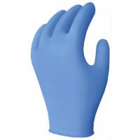 Powdered nitrile gloves