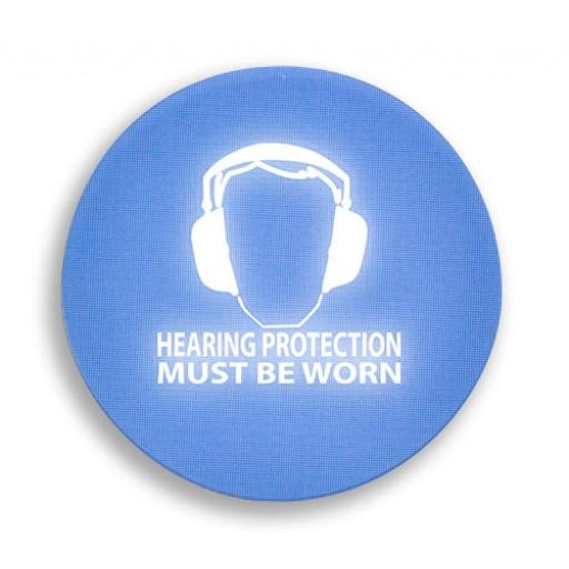 Panneau d'alerte visuelle activé par le bruit