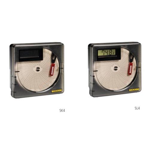 Enregistreur de température sur charte