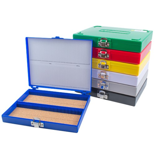 Slide storage box