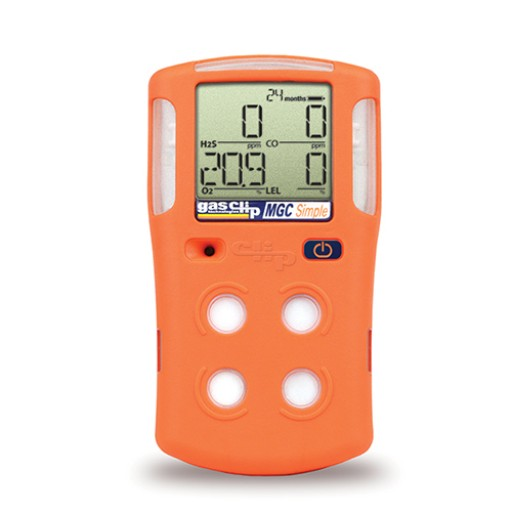 Maintenance-free 4-gas detector