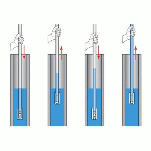 Pompe à inertie