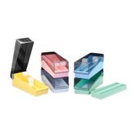 Boîte pour 100 lames de microscopes