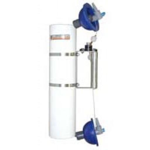 Bouteille d'échantillonnage d'eau verticale
