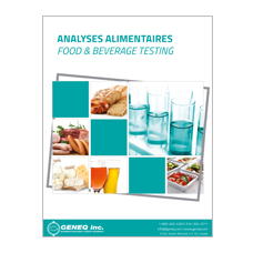 Food and Beverages Testing