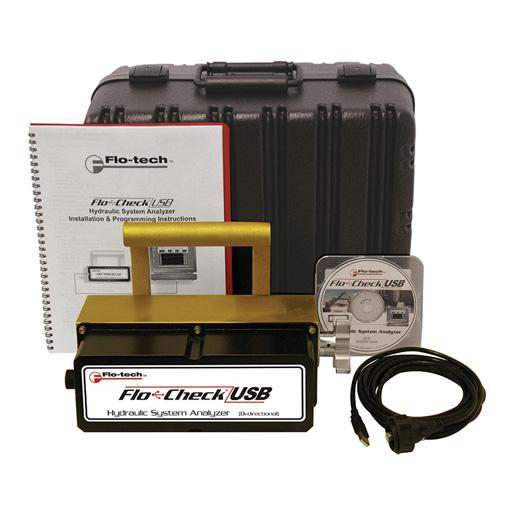 USB Hydraulic System Analyzer